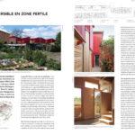Publication d'un projet d'aménagement extérieur à Stains dans le magazin SEQUENCES BOIS !!